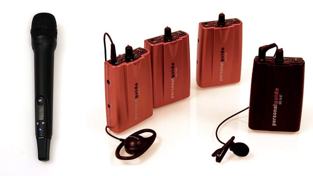 Système audio visite guidée