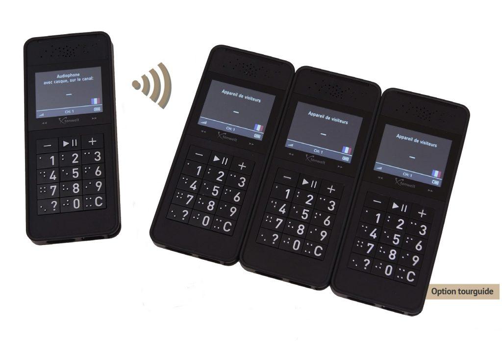 audioguide multimédia option audiophone