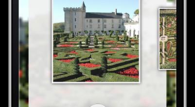 Application iPhone iPad Smartphone Android Château de Villandry