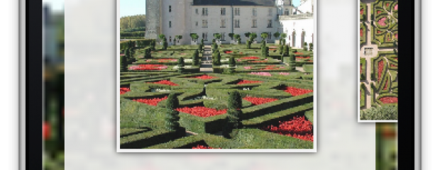 Application iPhone iPad Smartphone Android Château de Villandry
