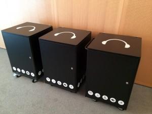 Desserte Audioguide/audiophone multimédia à la Philharmonie de Paris pour atelier pédagogique