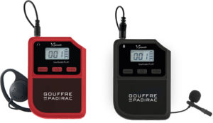 audiophone pour groupe tourGuide Play